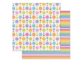 Doodlebug Collection Fairy Garden Paper 12 in. x 12 in. Fairy Floral (25 pieces)