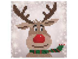 Diamond Dotz Mini Pillow Kit - Christmas Reindeer