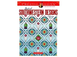 Dover Publications Creative Haven Stylish Southwestern Designs Coloring Book