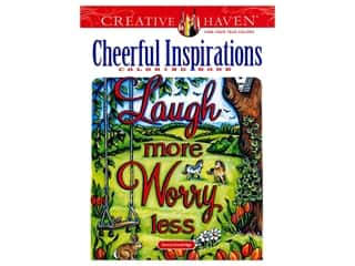 Dover Publications Creative Haven Cheerful Inspirations Coloring Book