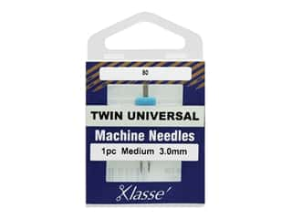 Klasse Machine Needle Twin Universal 3.0 mm/80 1 pc