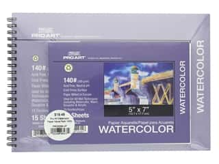 projects & kits: Pro Art Sets Watercolor Paper Value Pack 140 lb.