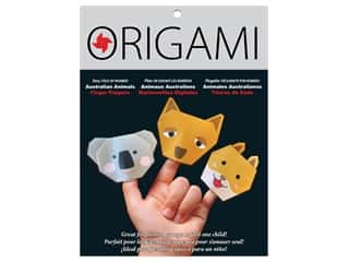 patterned paper : Yasutomo Origami Paper Finger Puppets Australia Animals