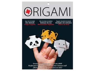 patterned paper : Yasutomo Origami Paper Finger Puppets Zoo Animals