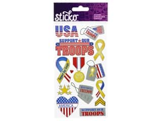 Sticko Stickers - Support Our Troops