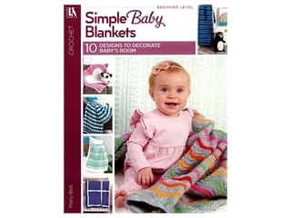 Leisure Arts Simple Baby Blankets Book