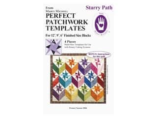 Marti Michell Perfect Patchwork Templates - Starry Path Set