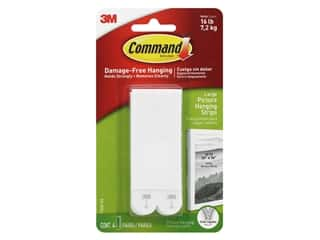 glues, adhesives & tapes: Command Adhesive Picture Hanger Strips Large 4 pc