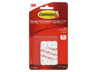 glues, adhesives & tapes: Command Adhesive Replacement Strips Refill Strips Mini .5