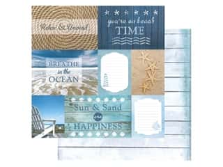 Paper House Paper 12 in. x 12 in. Beach Tags (15 pieces)