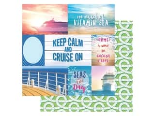 Paper House Paper 12 in. x 12 in. Cruise Tags (15 pieces)