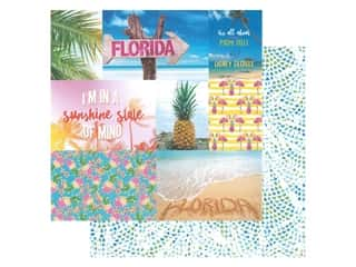 Paper House Paper 12 in. x 12 in. Florida Tags (15 pieces)