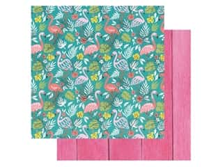 Paper House Paper 12 in. x 12 in. Flamingos (15 pieces)
