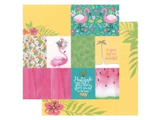 Paper House Paper 12 in. x 12 in. Flamingo Tags (15 pieces)