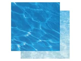 Paper House Paper 12 in. x 12 in. Water (15 pieces)