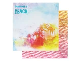 Paper House Paper 12 in. x 12 in. A Day At The Beach (15 pieces)