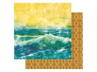 Paper House Paper 12 in. x 12 in. Sundrenched (15 pieces)