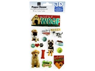 Paper House Sticker 3D You Had Me At Woof