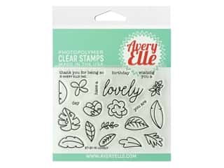 Avery Elle Clear Stamp Lovely