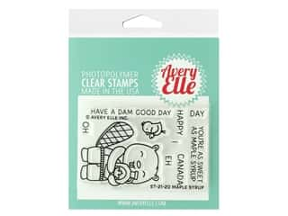 Avery Elle Clear Stamp Maple Syrup