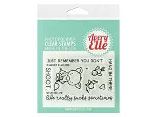 Avery Elle Clear Stamp Life