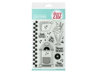 Avery Elle Clear Stamp You Rock