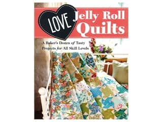 Stash By C&T Love Jelly Roll Quilts Book