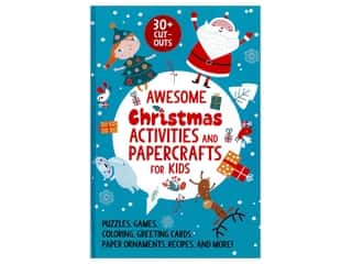 books & patterns: Sky Pony Books Awesome Christmas Activities and Papercrafts for Kids Book