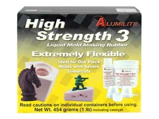 Alumilite Amazing High Strength Mold Making Rubber Pink 1 lb
