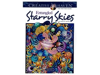 Dover Publications Creative Haven Entangled Starry Skies Coloring Book