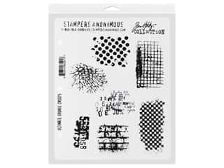 Stampers Anonymous Cling Mount Stamp Tim Holtz 7 in. x 8.5 in. Ultimate Grunge