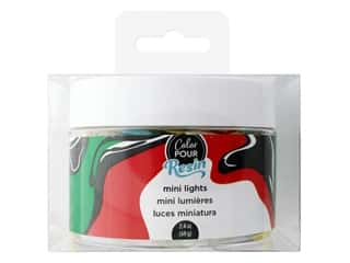 Christmas > Craft Embellishments : American Crafts Color Pour Resin Mix In Holiday Mini Lights