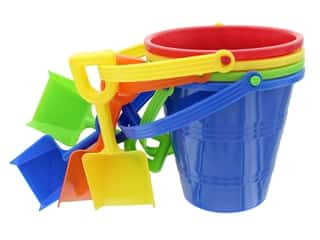Amscan Collection Summer Luau Small Pail With Shovel Assorted