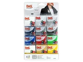 DAS Smart Polymer Clay Set - Primary Colors 12 pc.