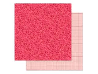 Doodlebug Collection Petite Prints Paper 12 in. x 12 in. Floral/Graph Ladybug (25 pieces)