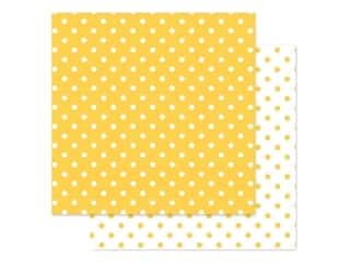 Doodlebug Paper 12 in. x 12 in. Swiss Dot Petite Bumblebee (25 pieces)