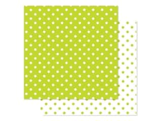 Doodlebug Paper 12 in. x 12 in. Swiss Dot Petite Citrus (25 pieces)