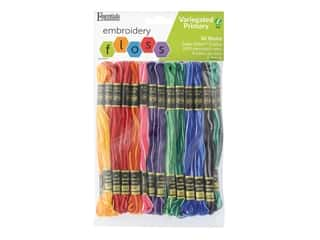 Essentials By Leisure Arts Iris Embroidery Floss Pack Variegated 36 pc