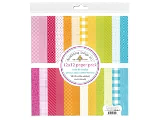 Doodlebug Collection Cute & Crafty Paper Pack Petite