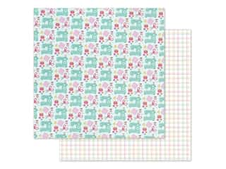 Doodlebug Collection Cute & Crafty Paper 12 in. x 12 in. Sew Cute (25 pieces)