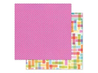 Doodlebug Collection Cute & Crafty Paper 12 in. x 12 in. Pretty In Pink (25 pieces)