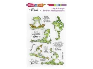 Stampendous Clear Stamp Frog Yoga