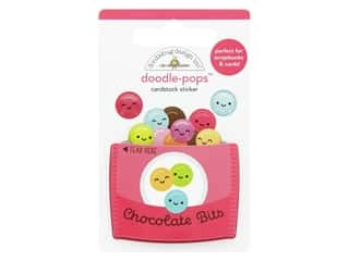 Doodlebug Collection Cute & Crafty Doodle Pops Chocolate Bits