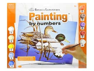 Royal Paint By Number Kit Large Blue Water Mallards