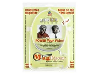 yarn & needlework: MagEyes Hands Free Magnifiers With #2 & #4 Lenses Plus Loupe