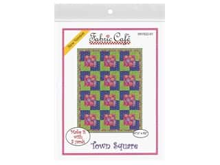 Fabric Cafe Town Square 3 Yard Quilt Pattern