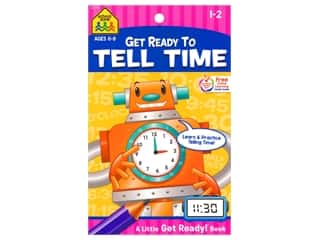 School Zone Little Get Ready To Tell Time Book