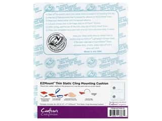 Crafter's Companion EZ Mount Static Cling Mounting Cushion Foam Thin Black