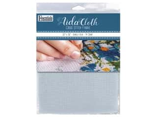 Essentials By Leisure Arts Aida Cloth 14 ct 30 in. x 36 in. Barely Blue