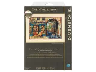 Dimensions Cross Stitch Kit 16 in. x 11 in. Charming Waterway